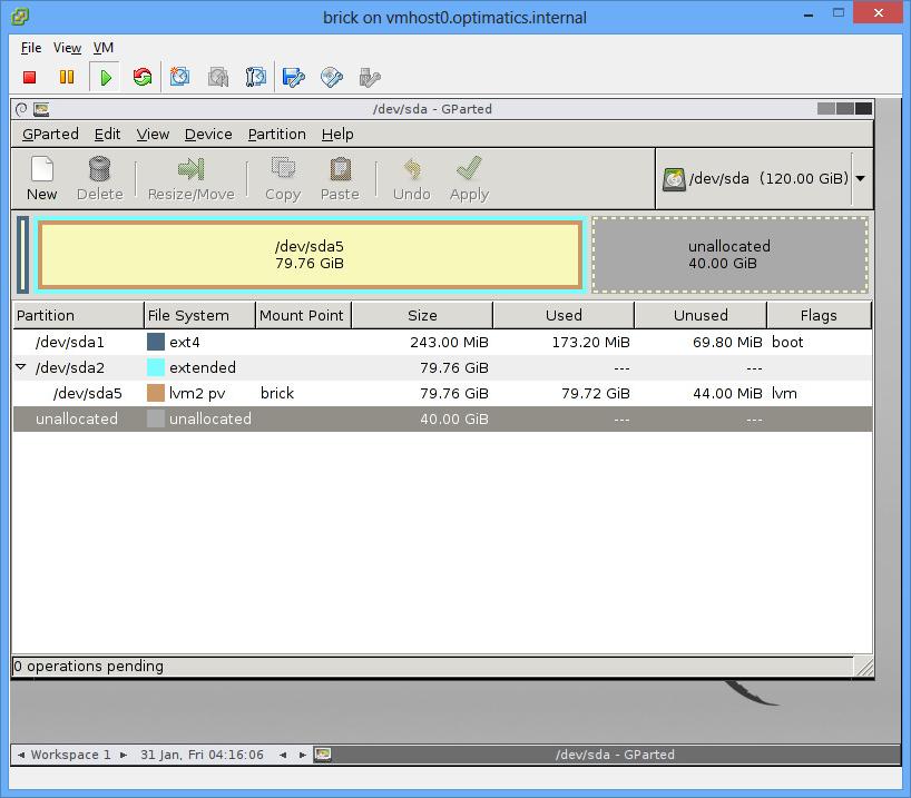 Expand disk on ESXi Virtual Machine running Ubuntu – the easy way